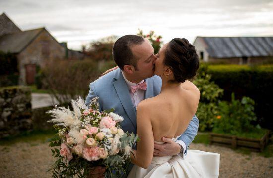Photo mariage robe de mariée photographe normandie